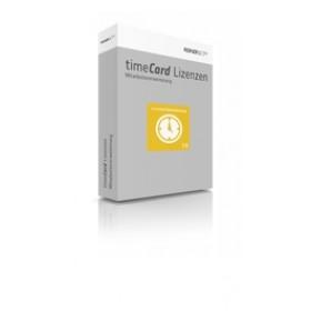 timeCard Zeiterfassung Erweiterung 10 Mitarbeiter