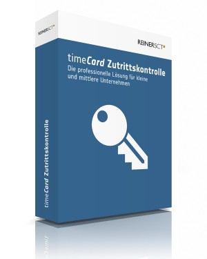 REINER SCT timeCard 6 ZuKo Basis (5 Mitarbeiter) Lizenz