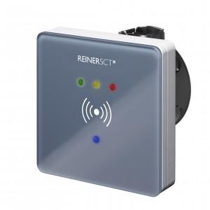 Reiner SCT timeCard externer RFID-Leser (DES) für Zutrittskontrolle